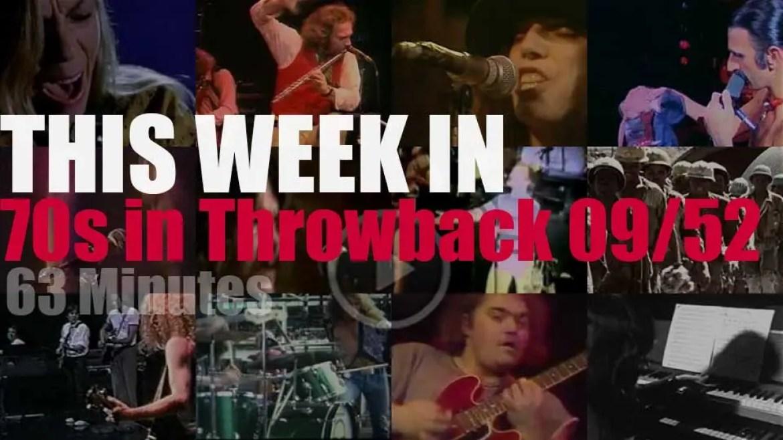 This week In '70s Throwback' 09/52