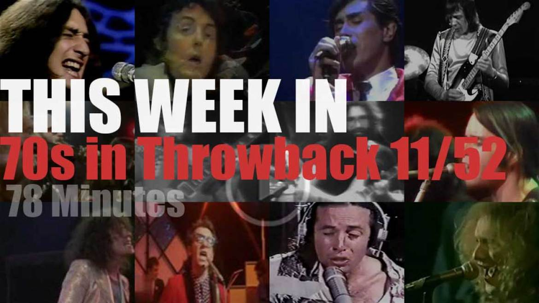 This week In  '70s Throwback' 11/52