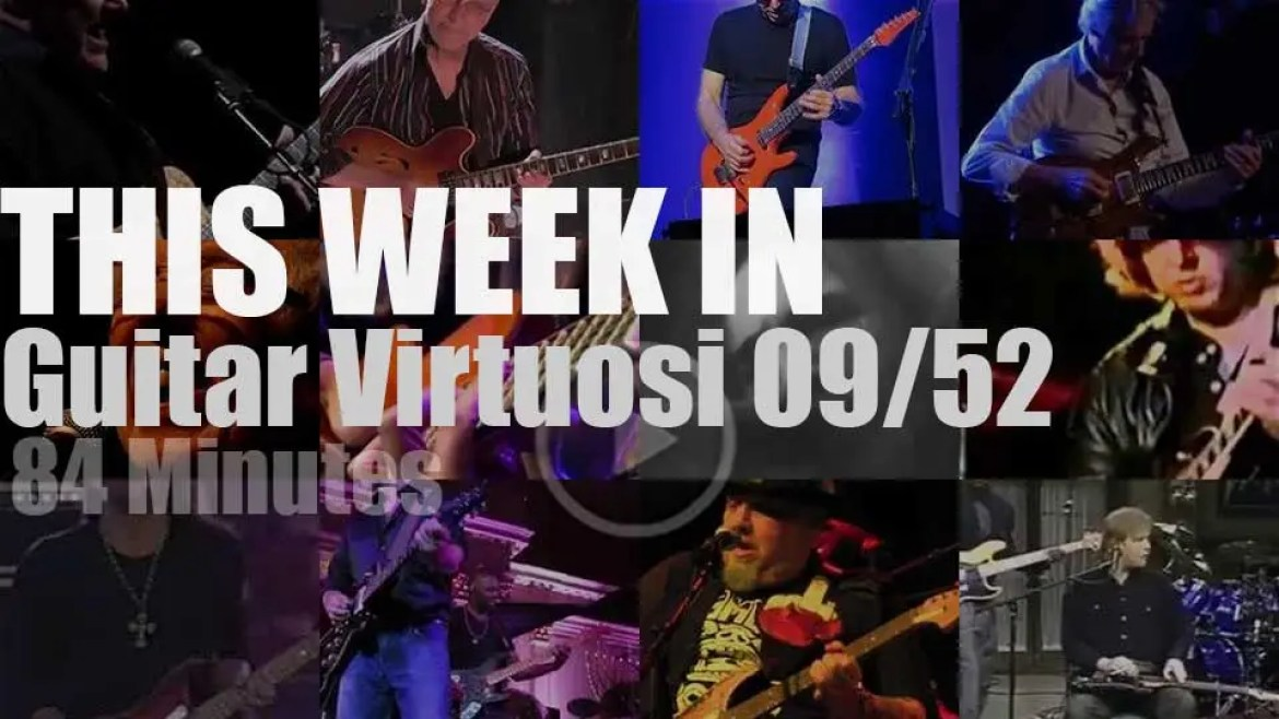 This week In Guitar Virtuosi 09/52