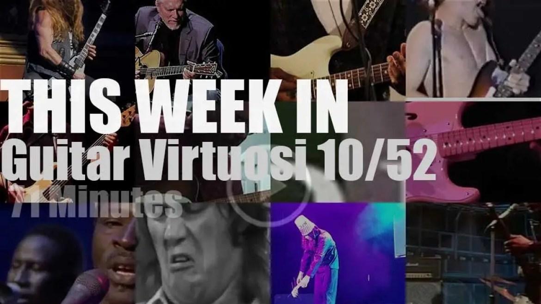This week In Guitar Virtuosi 10/52