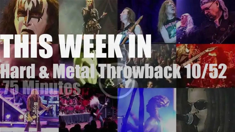 This week In  'Hard & Metal Throwback'  10/52