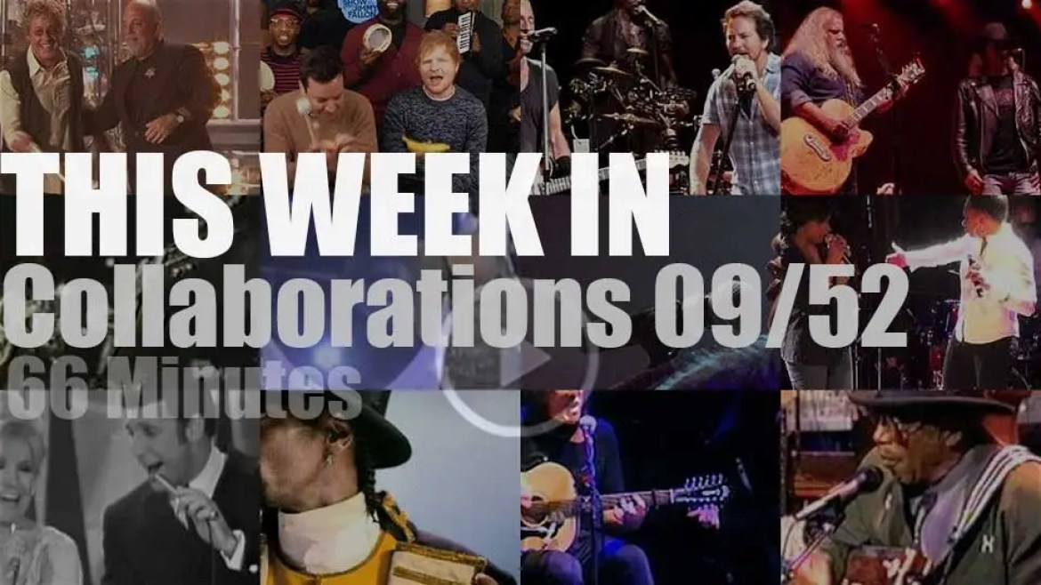 This week In One-Off Collaborations 09/52