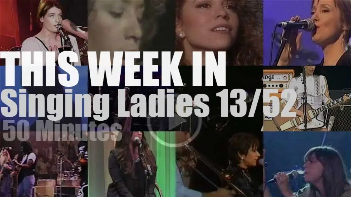 This week In Singing Ladies 18