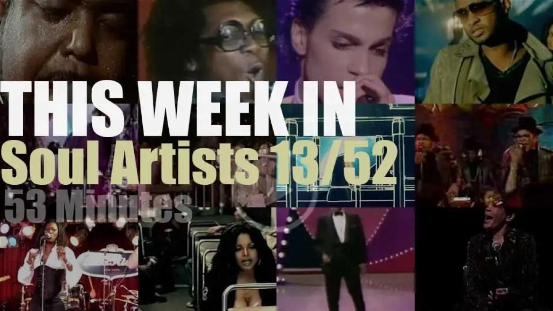 This week In Soul Artists 13/52