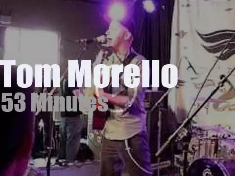 Tom Morello sings in Austin (2012)