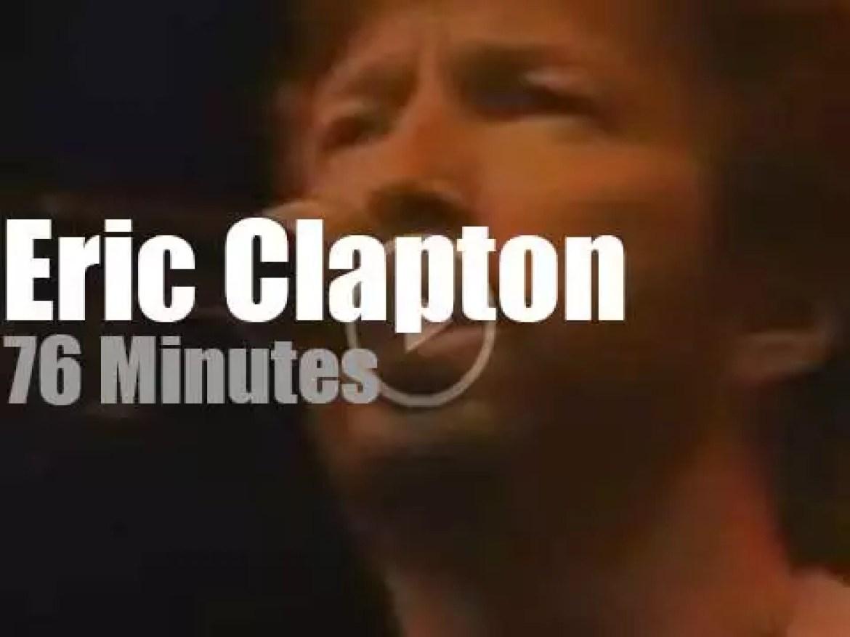 Eric Clapton comes to Connecticut  (1985)