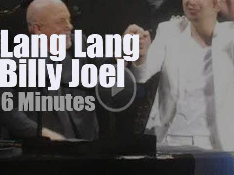 Garden resident Billy Joel invites Lang Lang (2019)