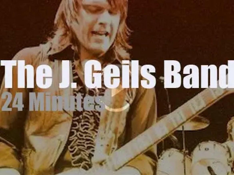 German TV program 'Rockpalast' tapes The J. Geils Band (1979)