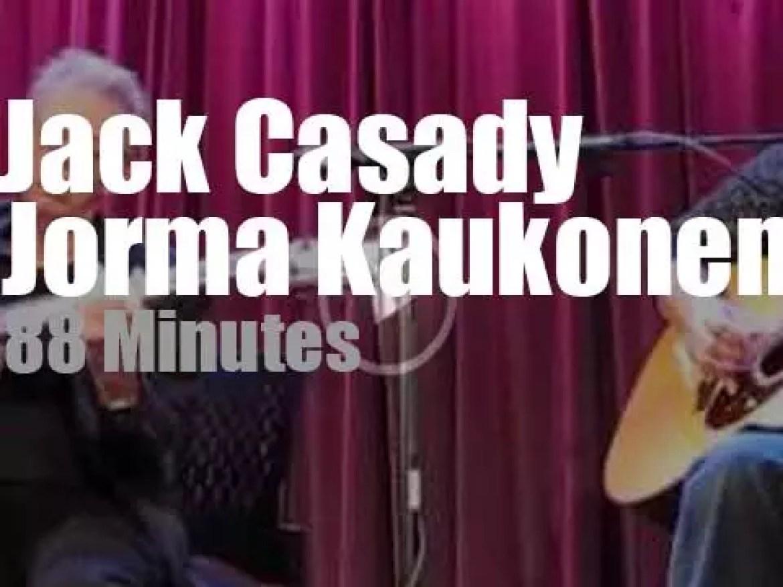 Jack Casady & Jorma Kaukonen discuss Jefferson Airplane  (2016)