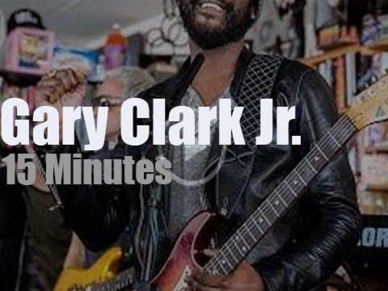 On TV today, Gary Clark Jr. at 'NPR Music Tiny Desk' (2019)