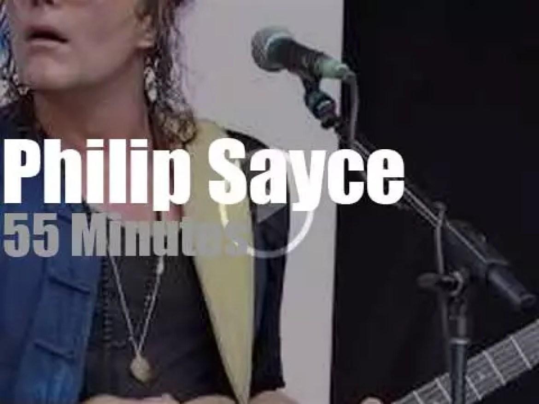 Philip Sayce visits Dallas (2019)