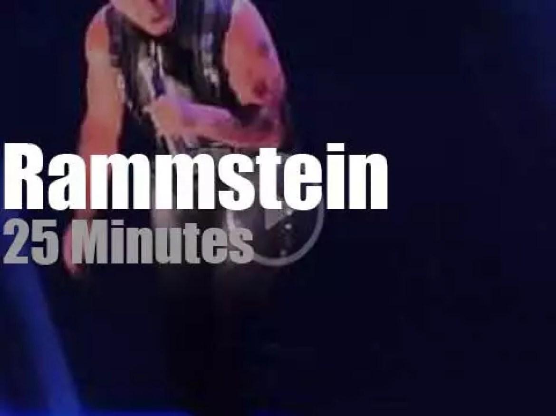 Rammstein invade Montpellier (2013)