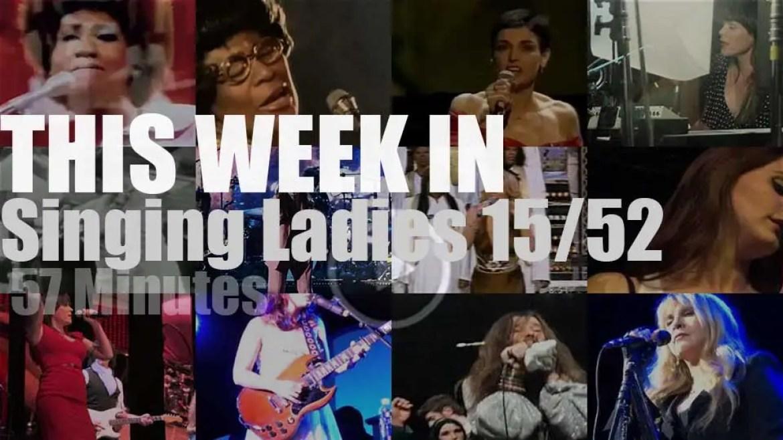 This week In Singing Ladies 15/52