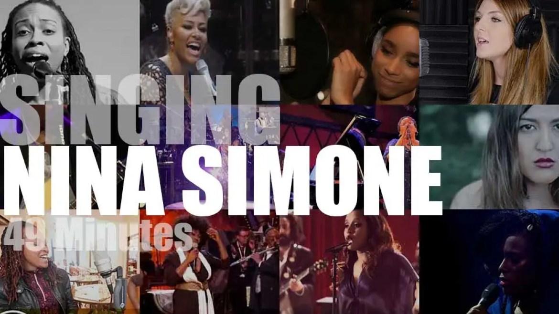 Singing Nina Simone