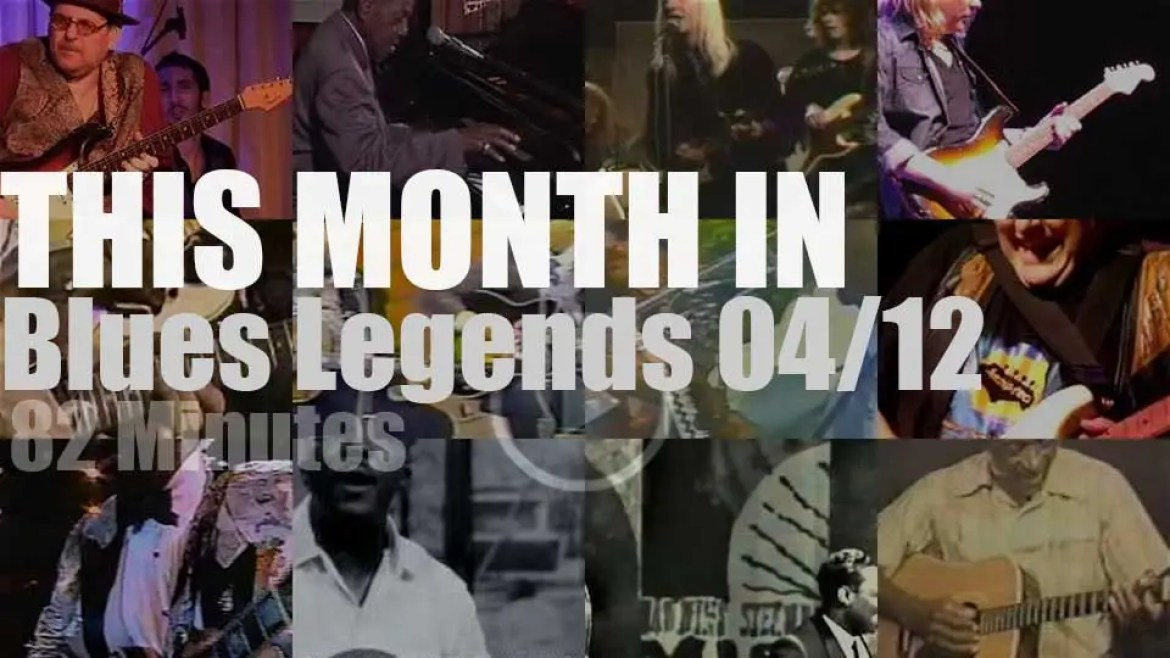 This month In Blues Legends 04/12