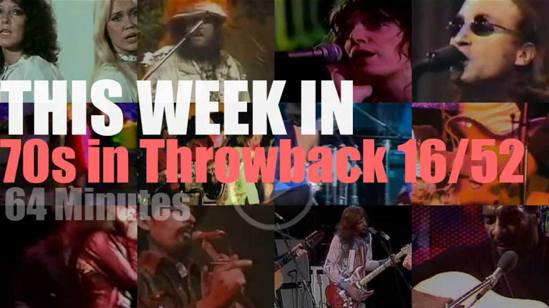 This week In  '70s Throwback' 16/52