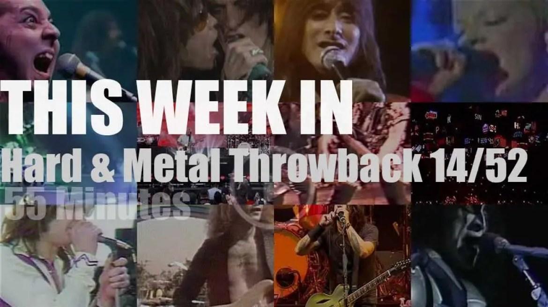 This week In  'Hard & Metal Throwback'  14/52
