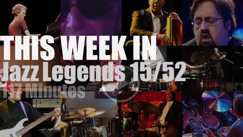 This week In Jazz Legends 15/52