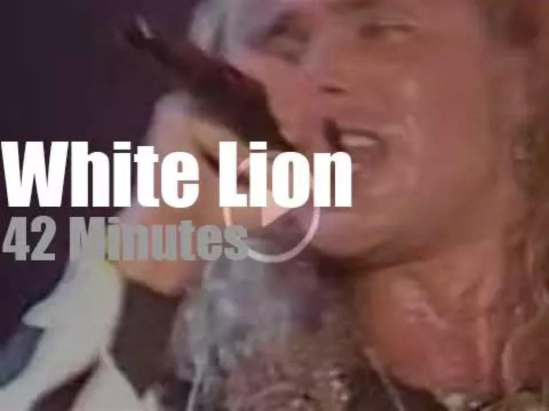 White Lion roar in NYC (1988)