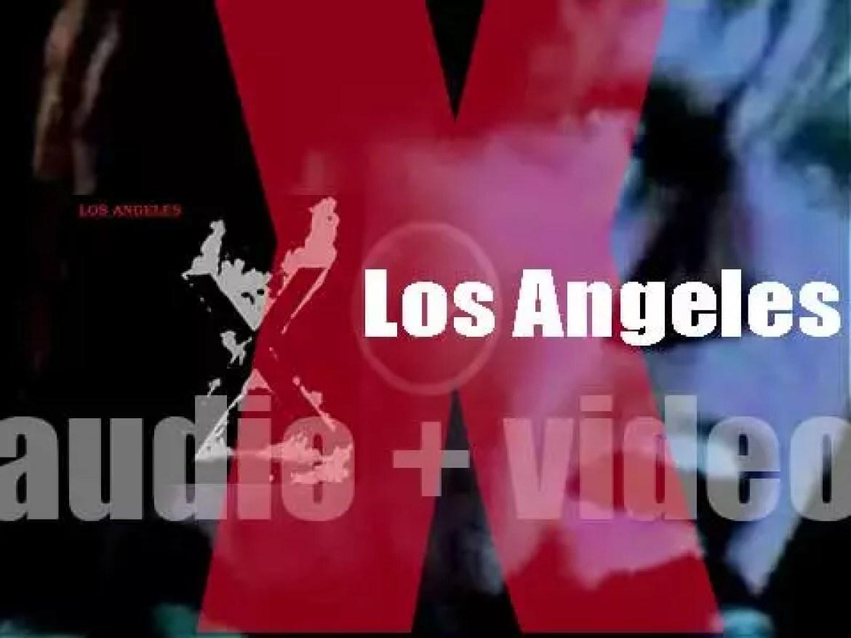 Slash Records publish X's debut album Los Angeles produced by Ray Manzarek (1980)