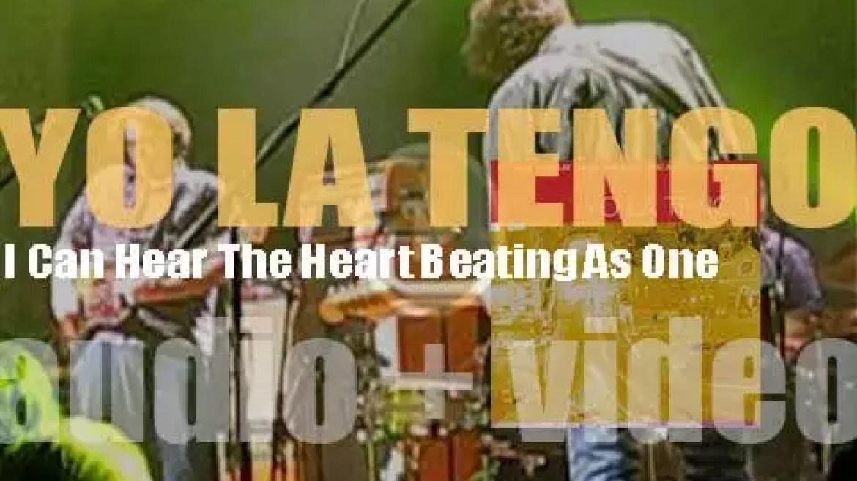 Matador publish Yo La Tengo's eighth album : 'I Can Hear The Heart Beating As One' (1997)