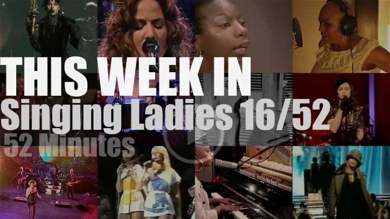 This week In Singing Ladies 16/52