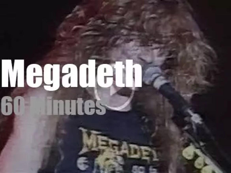 German TV tapes Megadeth (1988)