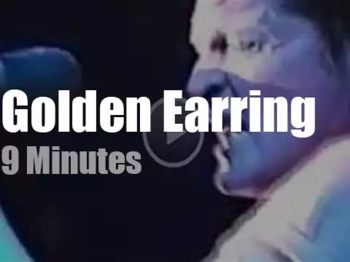Golden Earring perform in Holland (1996)