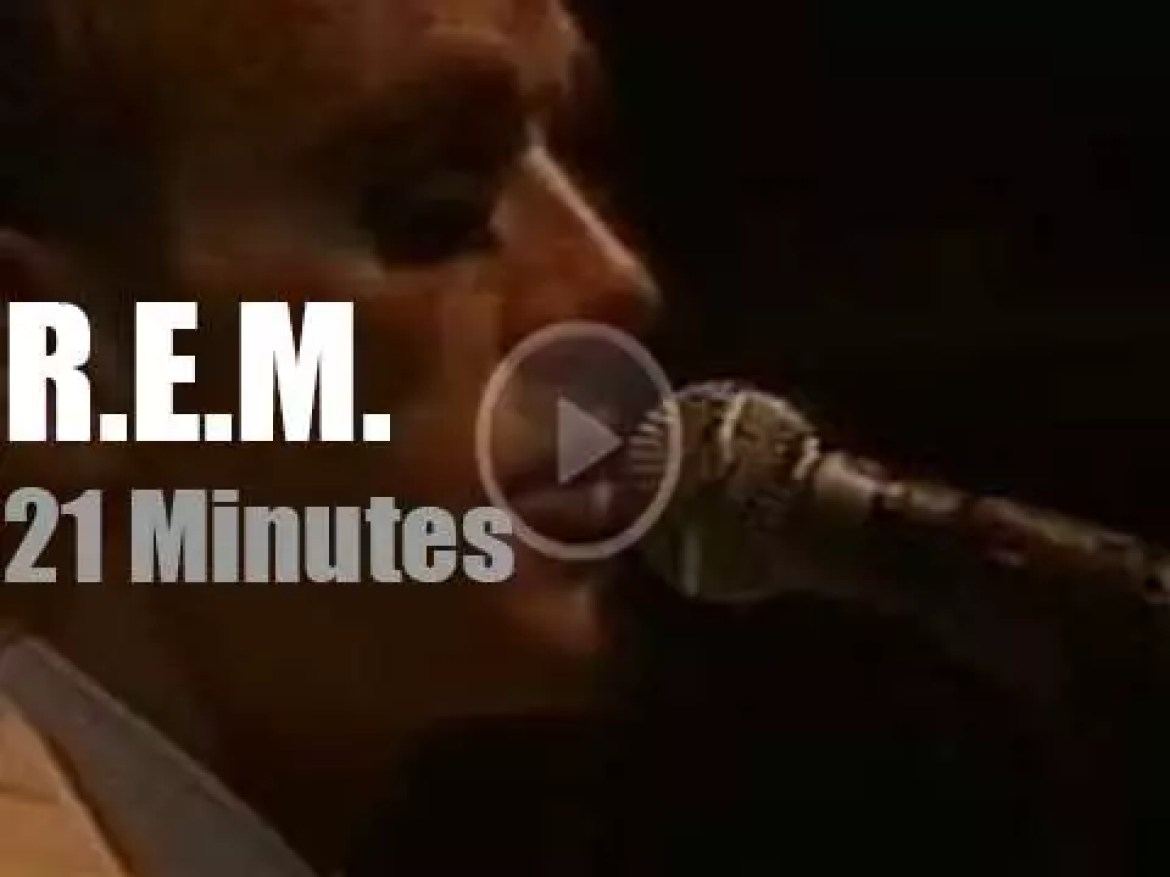 R.E.M. debut at Pinkpop (1989)