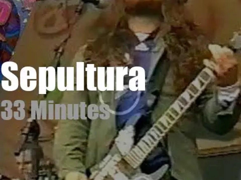 Sepultura serenade Pinkpop (1996)