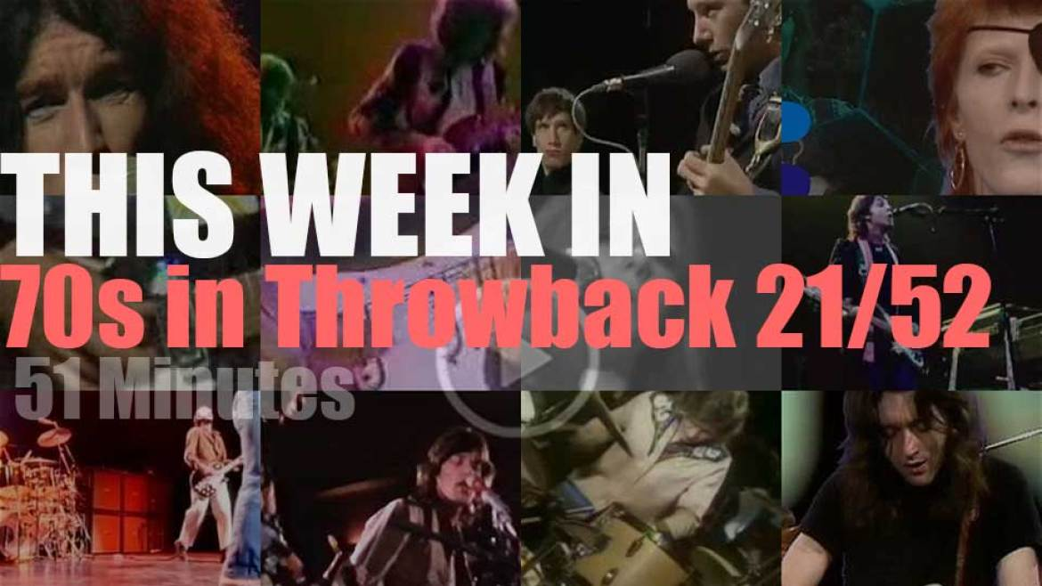 This week In  '70s (strictly English rock) Throwback' 21/52
