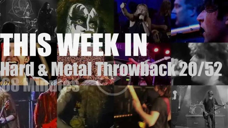 This week In  'Hard & Metal Throwback'  20/52
