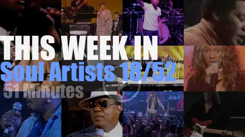 This week In Soul Artists 18/52