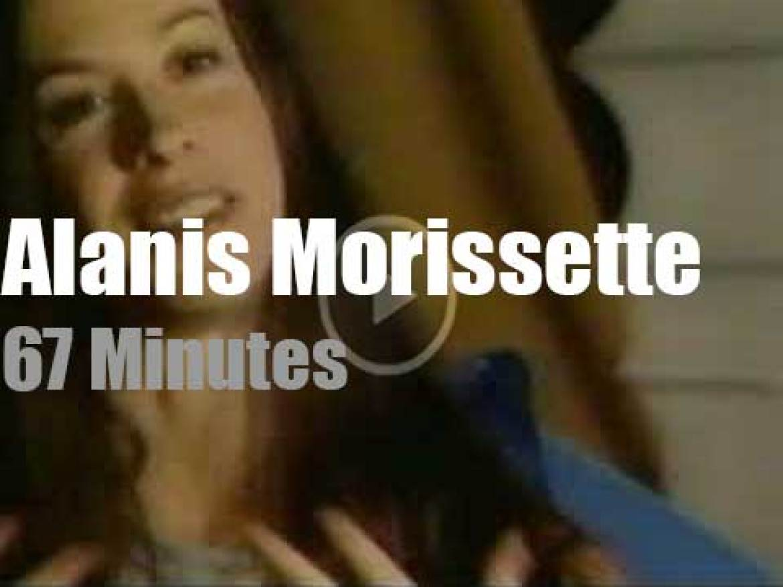 Alanis Morissette tapes a 'Custom Concert' (2002)