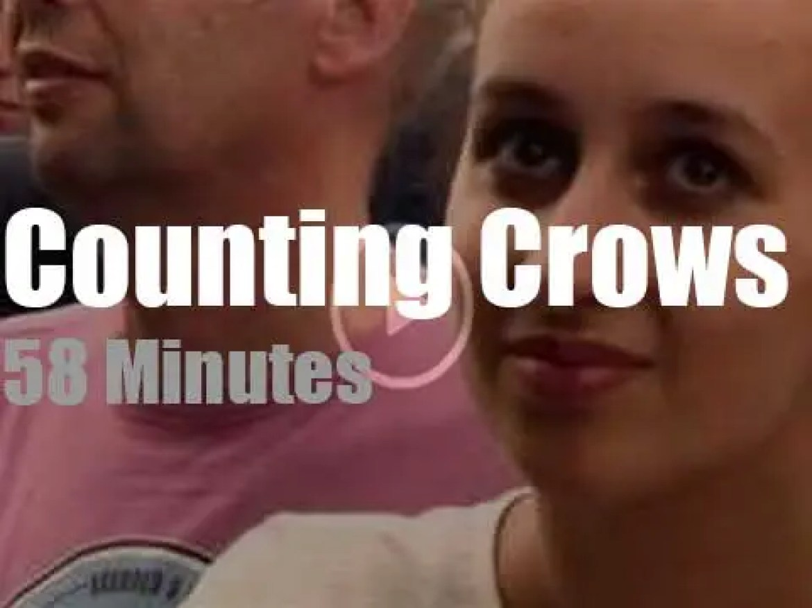 Counting Crows play Pinkpop (2015)