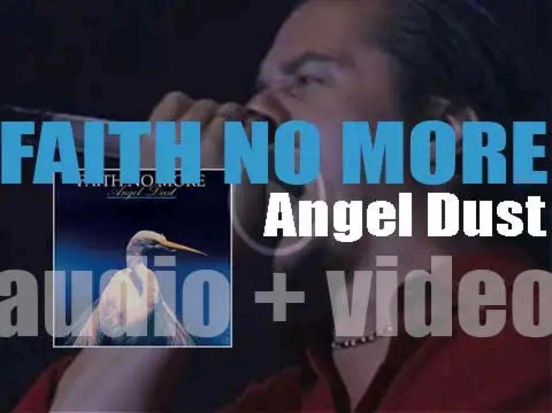 Faith No More release their  fourth album 'Angel Dust' (1992)