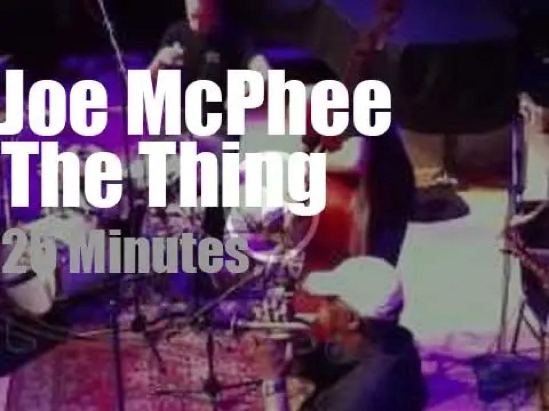 Joe McPhee teams with The Thing (2012)