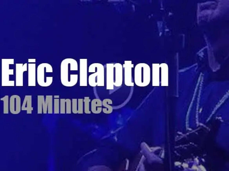 Kurt Rosenwinkel sits in with Eric Clapton in Berlin (2019)