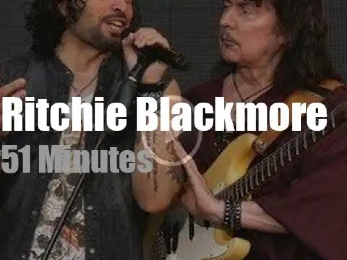 Ritchie Blackmore brings Rainbow to Finland (2019)