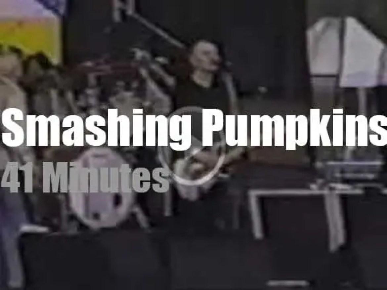 Smashing Pumpkins support 'Tibetan Freedom' (1996)