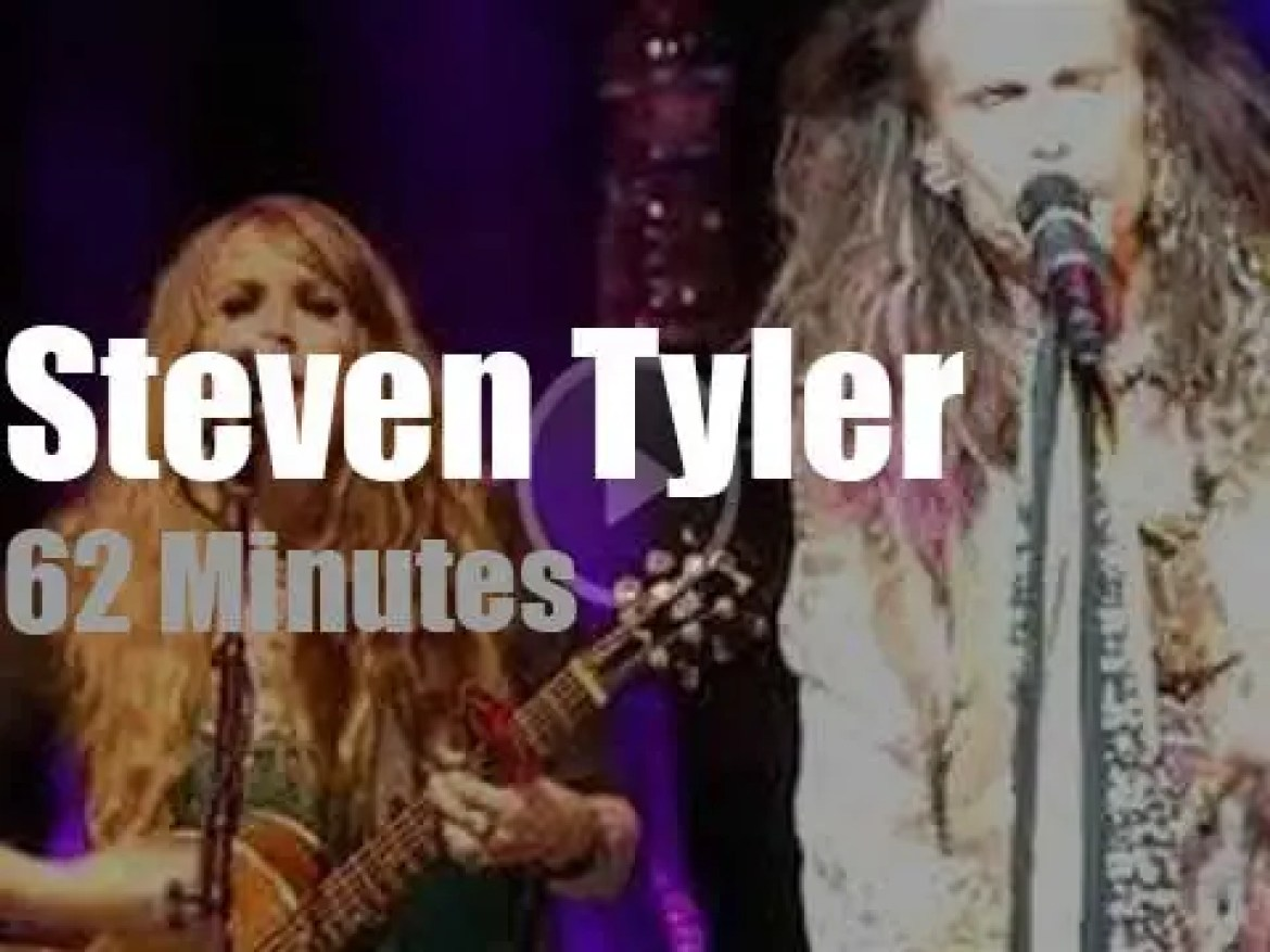 Steven Tyler goes solo (with a band) (2018)