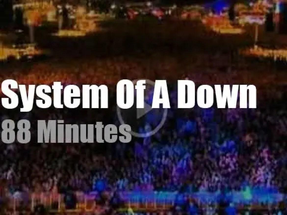 System Of A Down attend 'Rock am Ring' (2011)