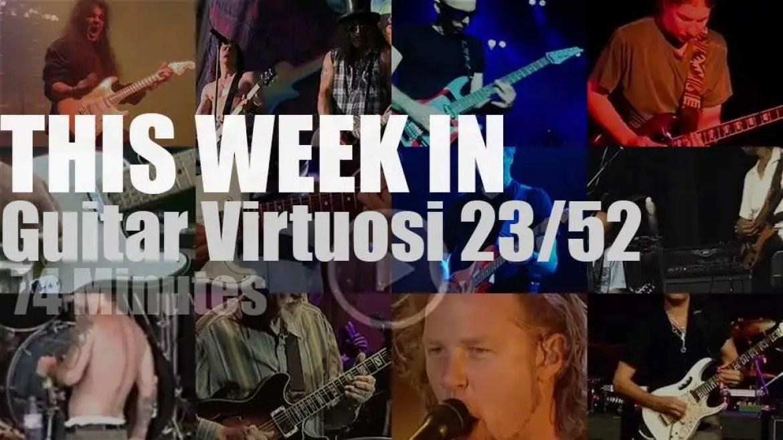 This week In Guitar Virtuosi 23/52