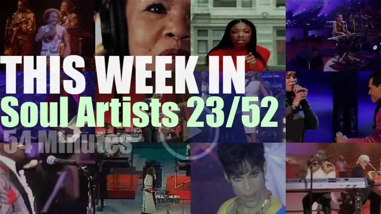 This week In Soul Artists 23/52