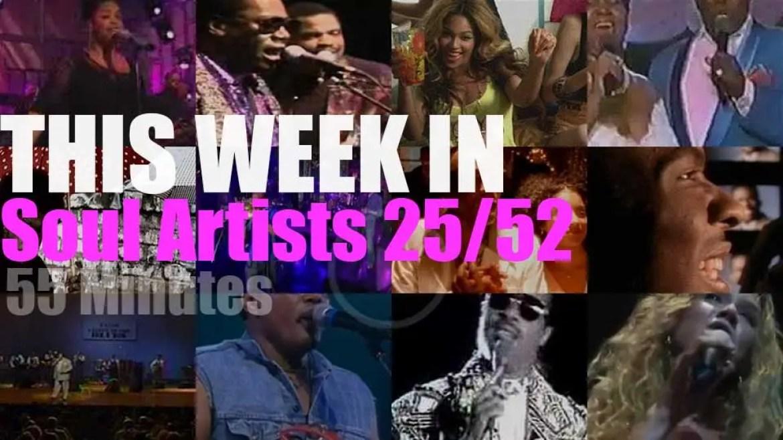 This week In Soul Artists 25/52