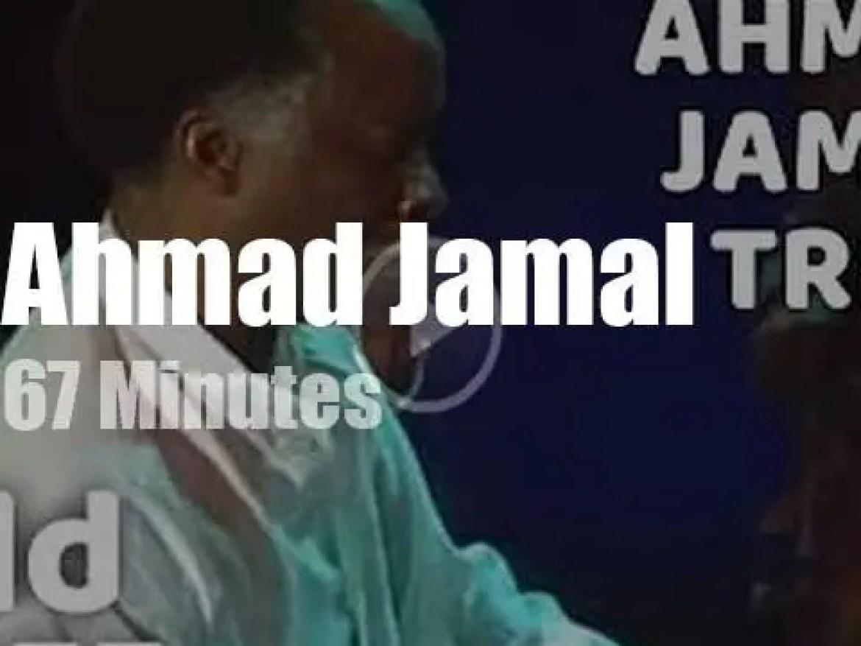 Ahmad Jamal Trio plays at 'North Sea Jazz' (1989)