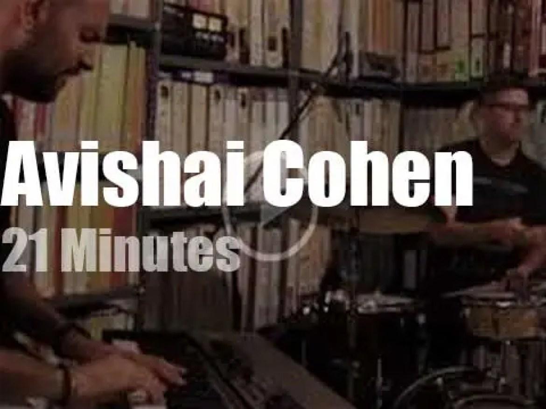 Avishai Cohen performs at Paste Studios (2019)