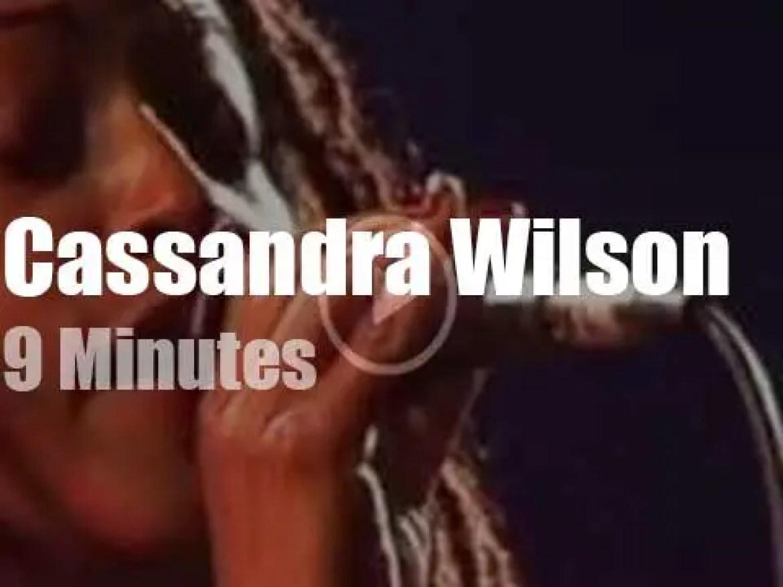 Cassandra Wilson sings in Stuttgart (1996)