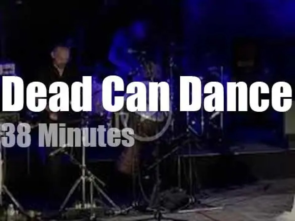 Dead Can Dance mesmerize at a Roman theater in Athens (2019)