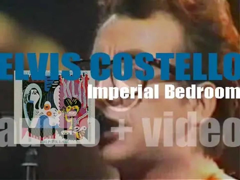 F-Beat publish Elvis Costello & The Attractions' 'Imperial Bedroom,' Costello's seventh album (1982)
